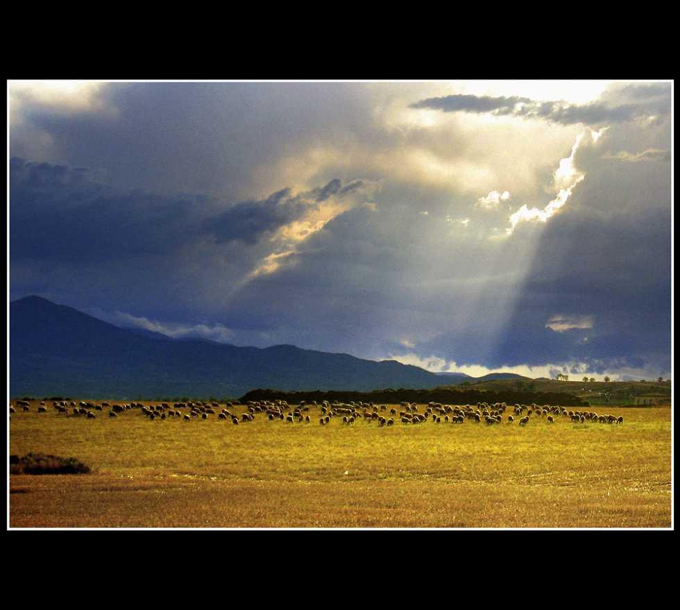 Cielo en Longares