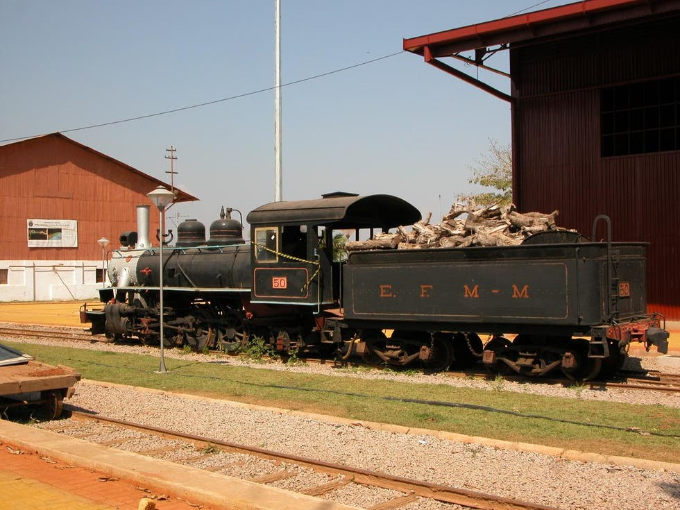 Locomotive in Porto Velho