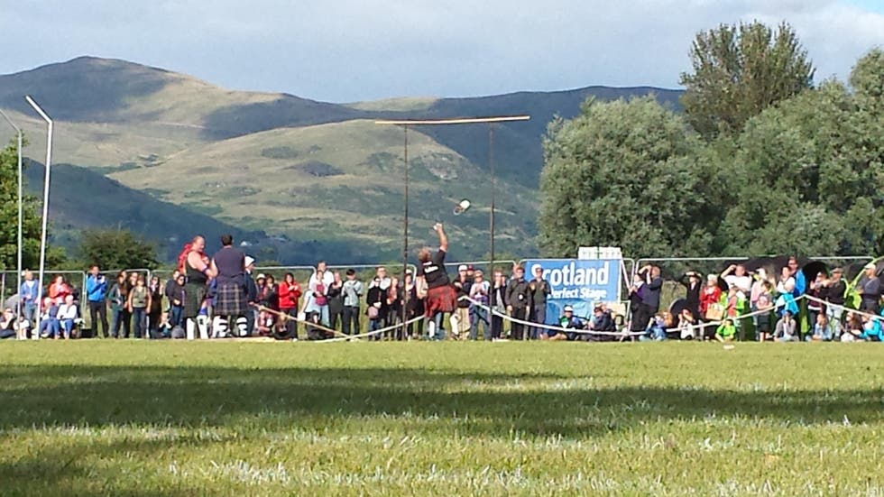 Festival en Stirling Highland Games 2015