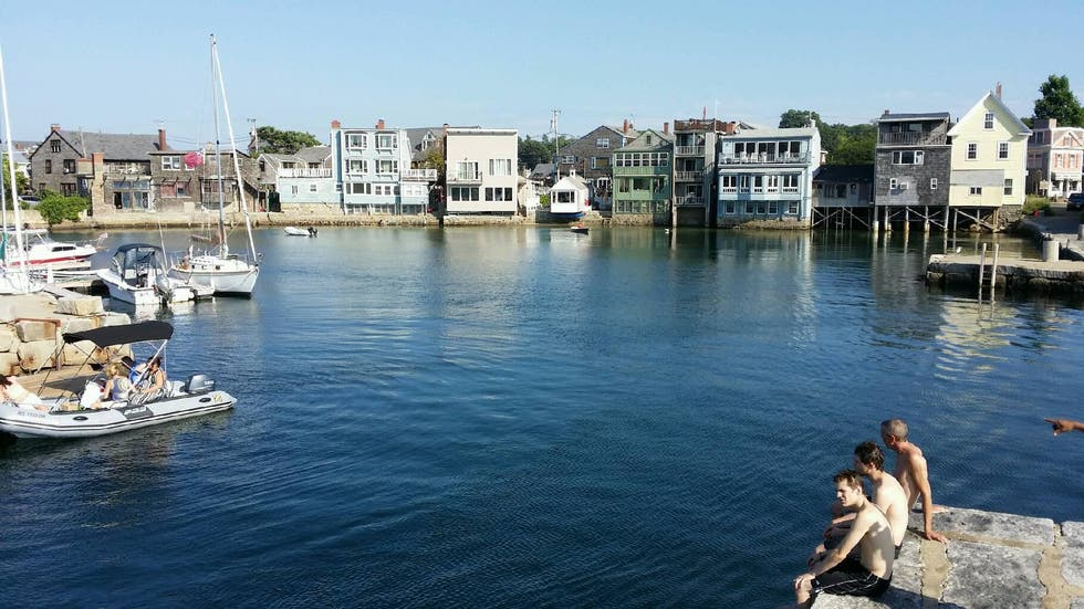 Town in Rockport