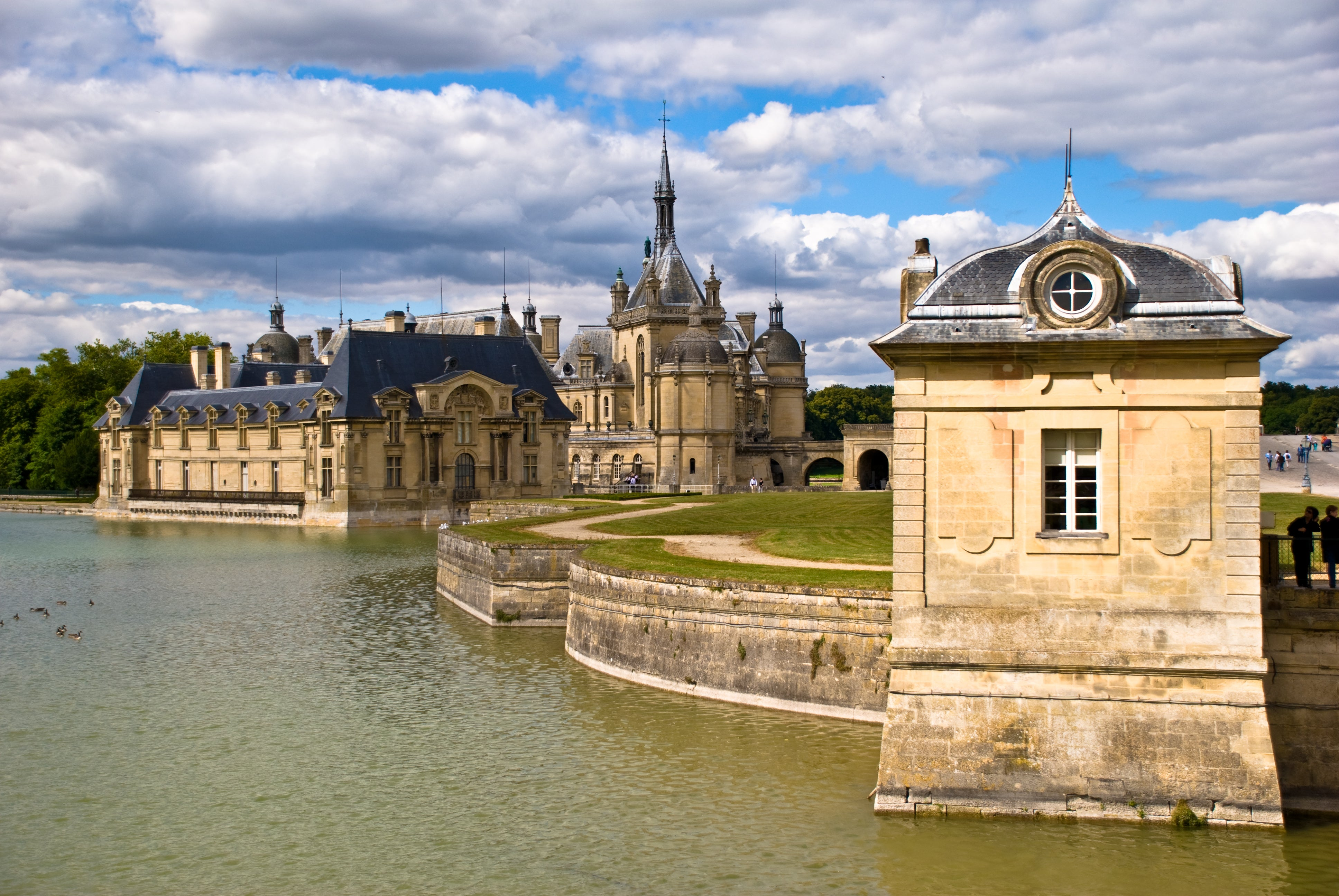 Edificio en Castillo de Chantilly