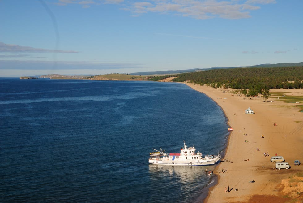 Beach in Irkutsk