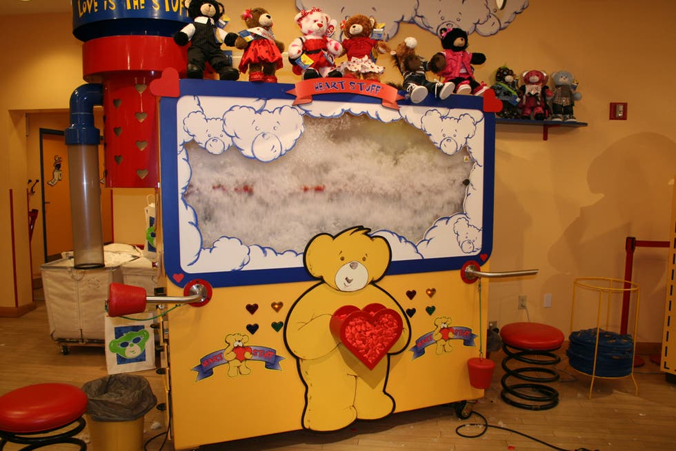 Dibujo animado en Build a Bear Workshop