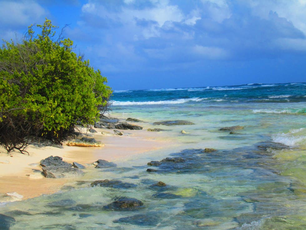Shore in San Andres Island