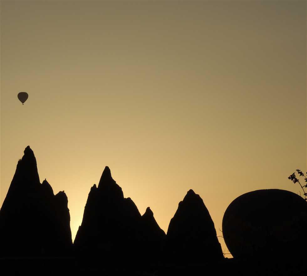 Horizonte en Cappadocia