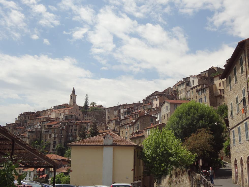 Sky in Apricale