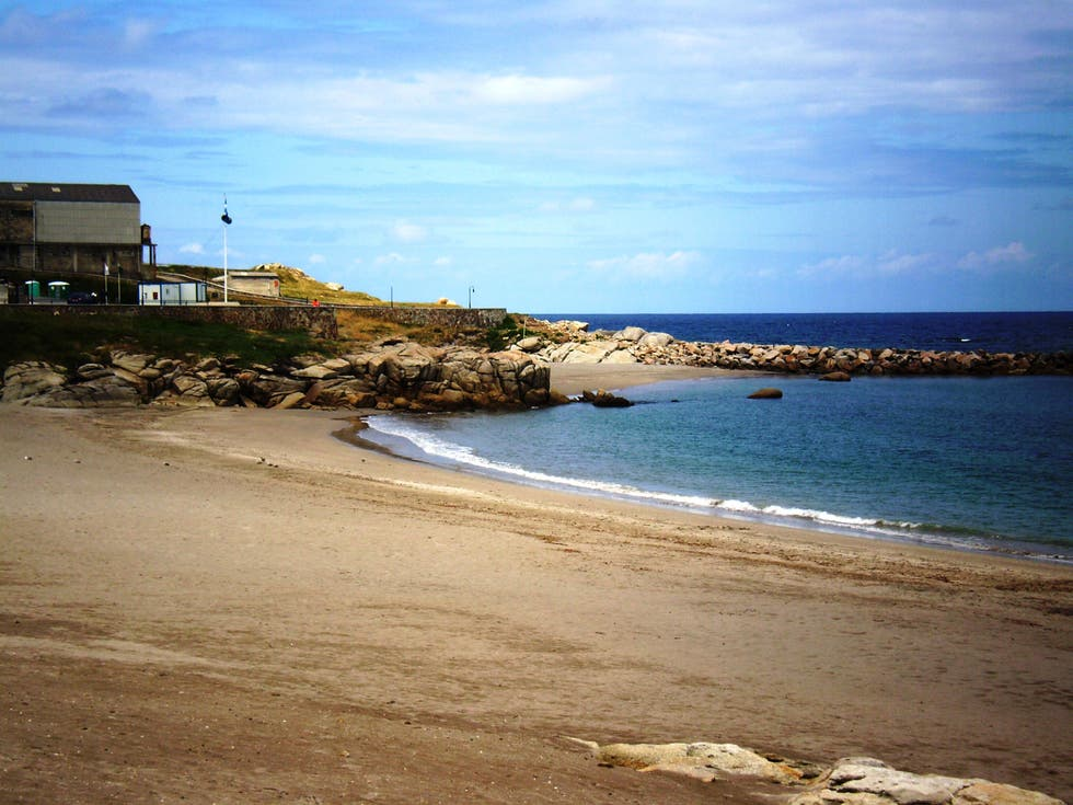 Beach in La Mariña Central