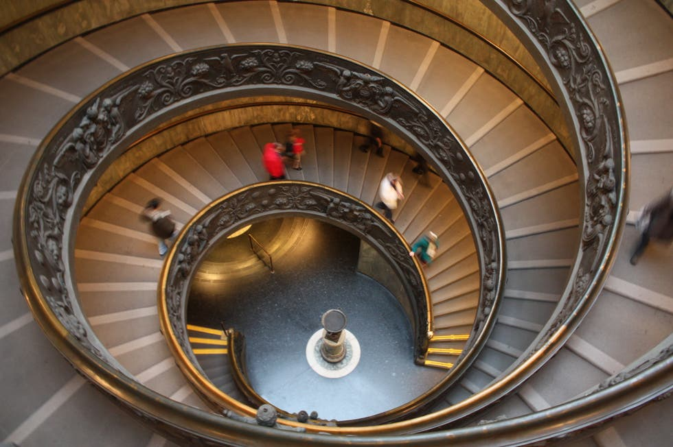 Spiral in Vatican City