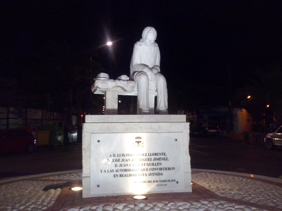 Monument in Olula del Río