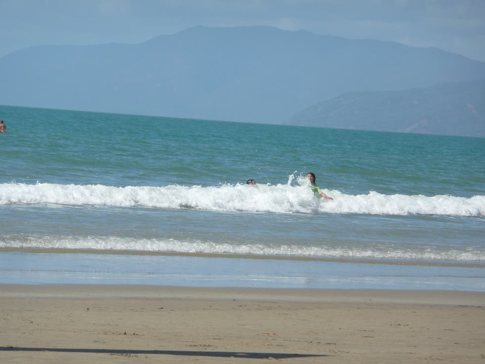 Mar en Playa de Port Douglas