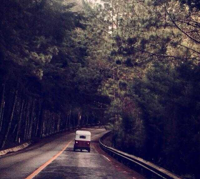Carretera en Chiapas