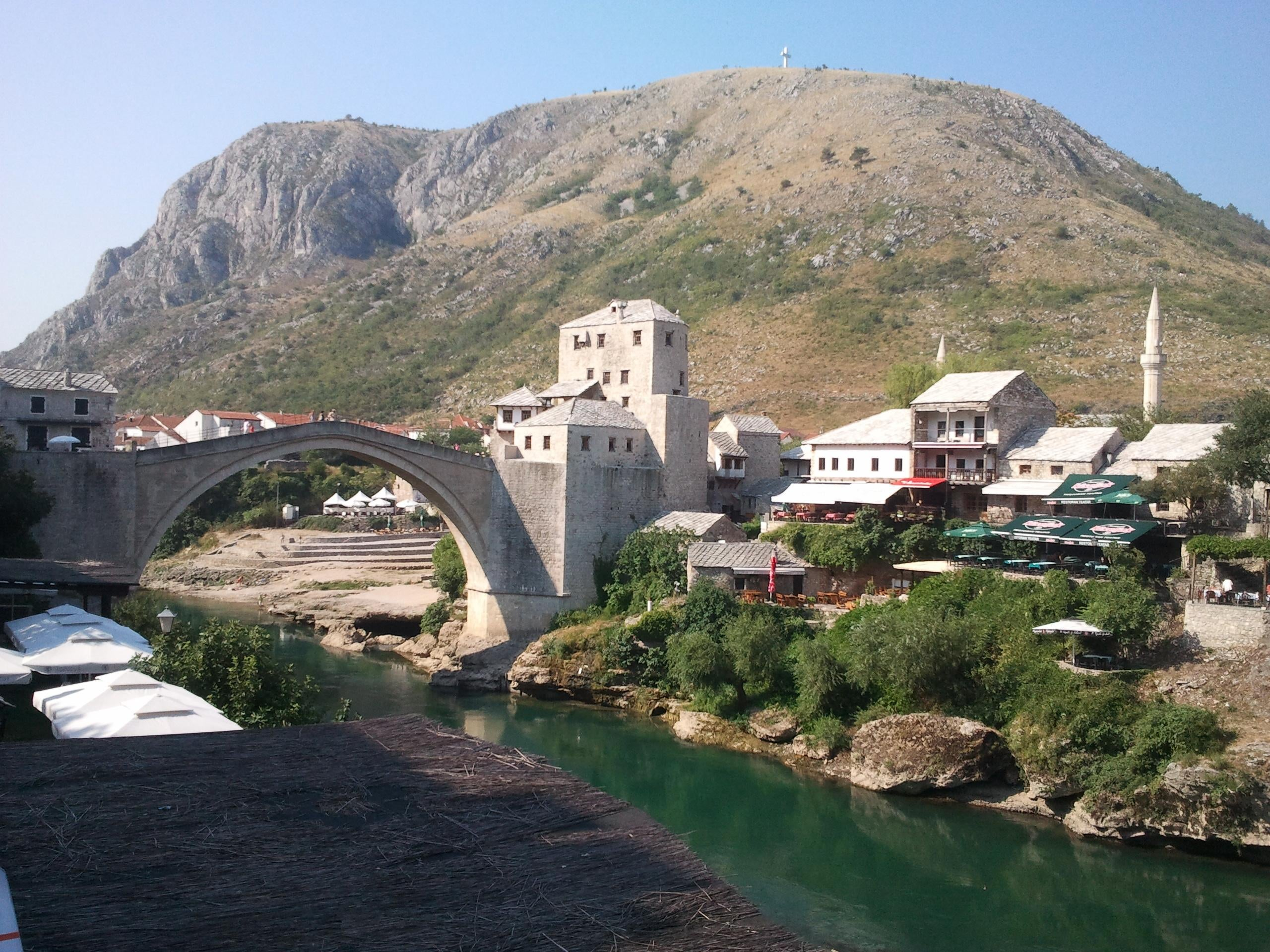 Fortification à Mostar