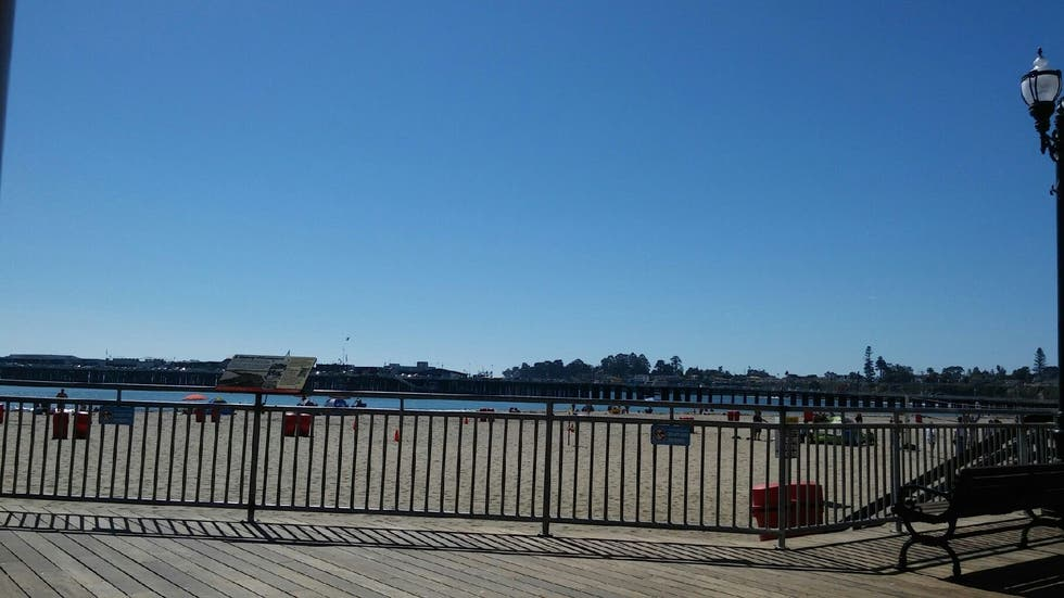Paseo en Santa Cruz Beach Boardwalk