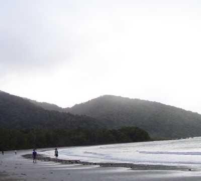 Mar en Playa de Cape Tribulation