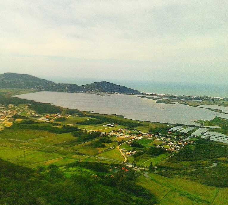 Mar en Praia Garopaba Brasil Formas de venta