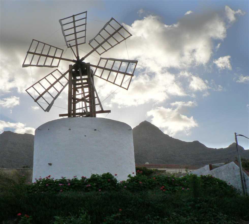 Mill in La Aldea de San Nicolás