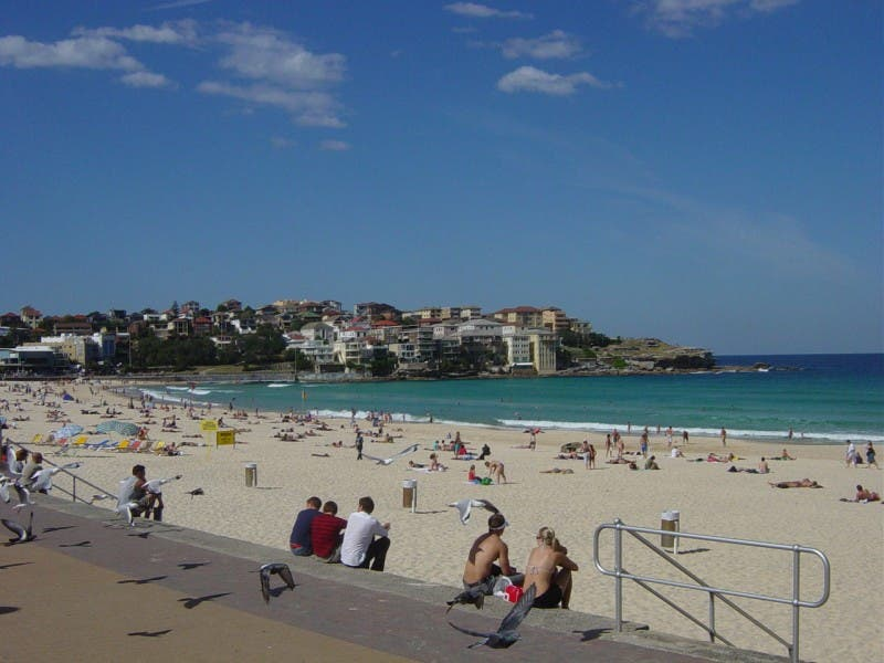 Mar en Playa de Bondi