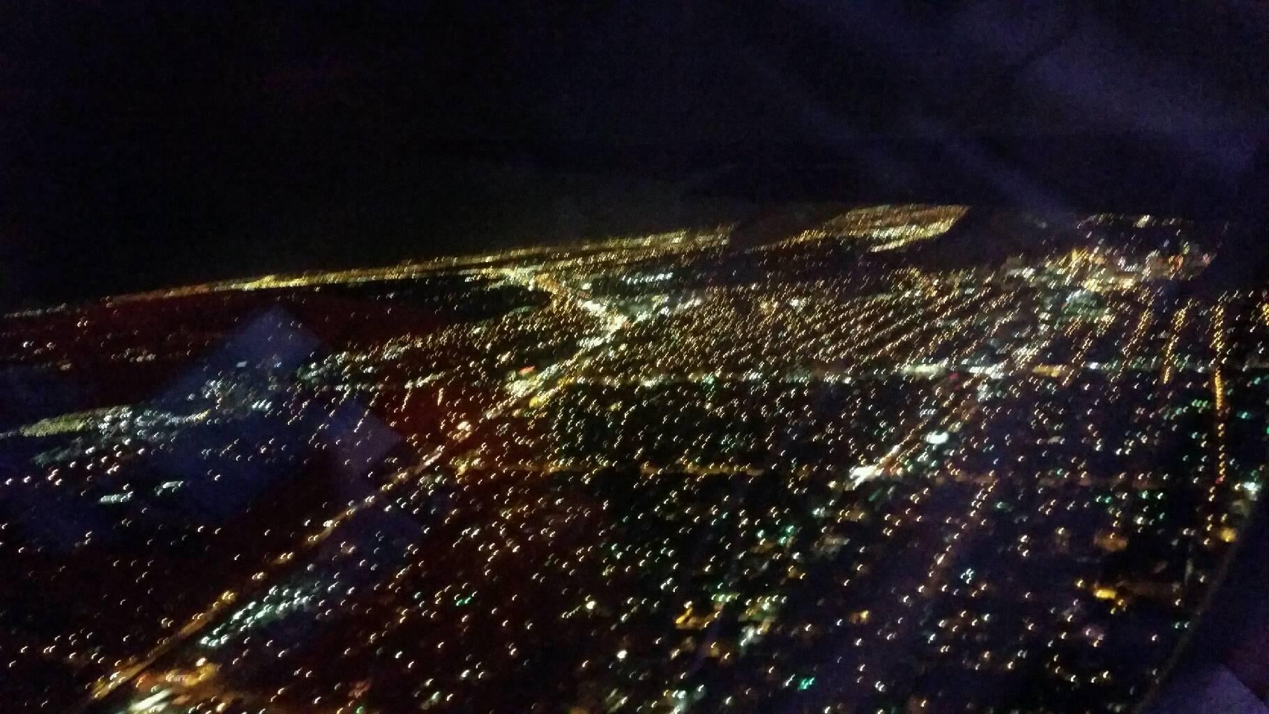 Night in Key Biscayne from Miami