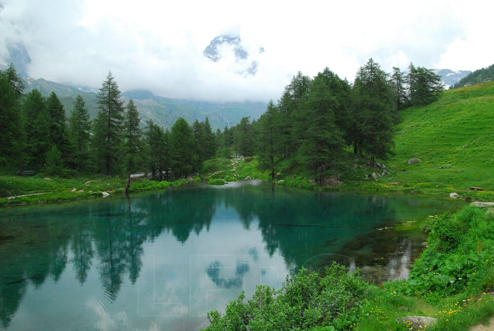 Water in Aosta Valley