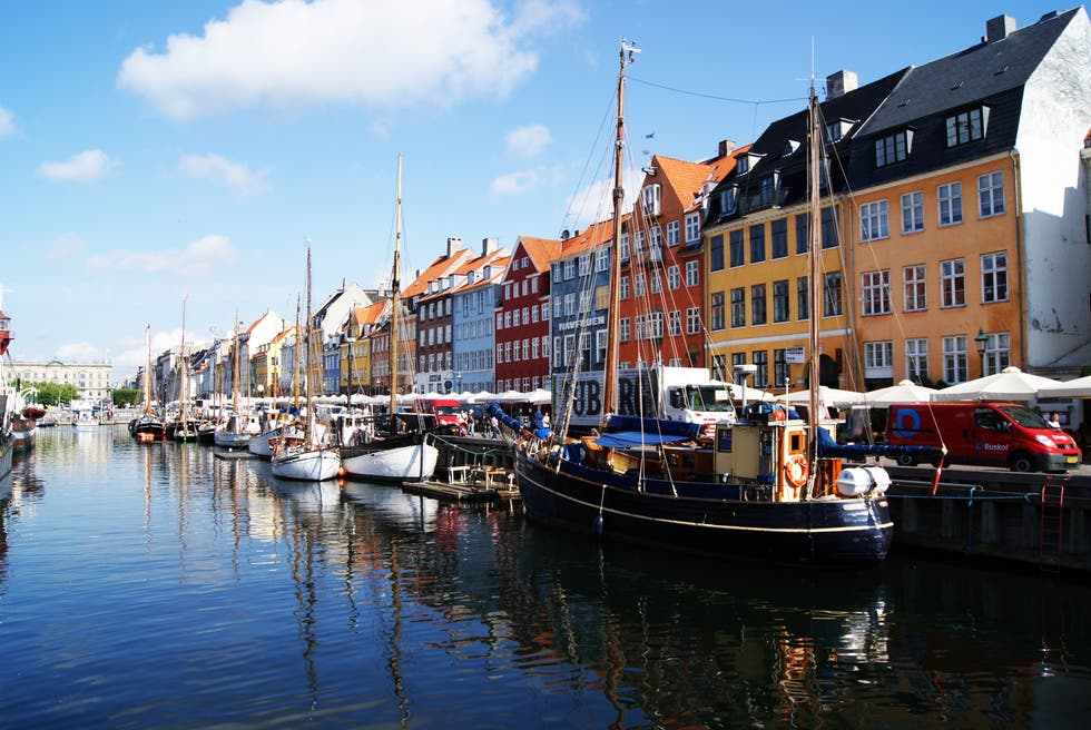 Azul en Copenhague