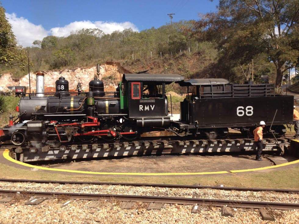 Locomotive à Bento Gonçalves