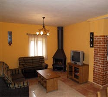 Sala en Casa Rural Marita
