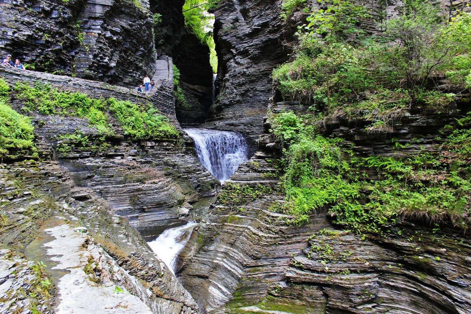 Waterfall in Watkins Glen