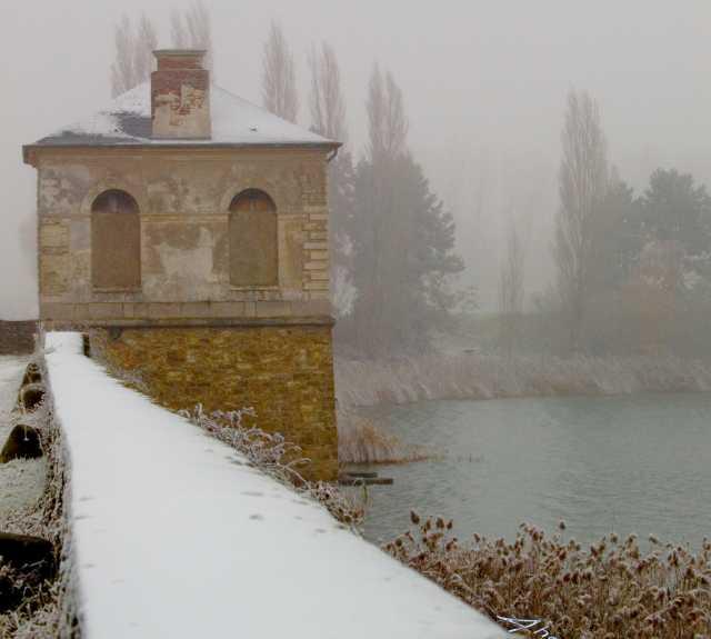 Inverno em Saclay