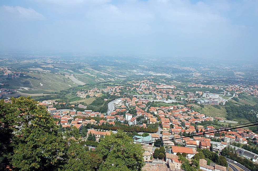 Bird's Eye View in San Marino