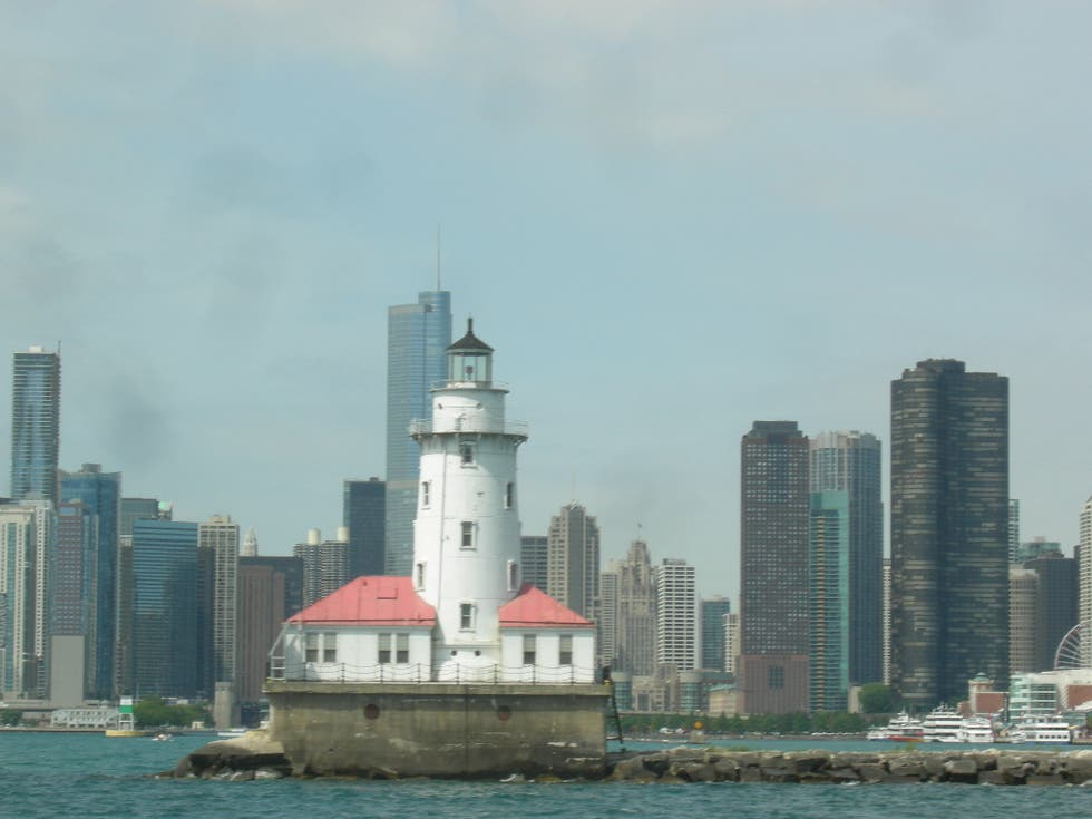 Skyline en Faro de Chicago