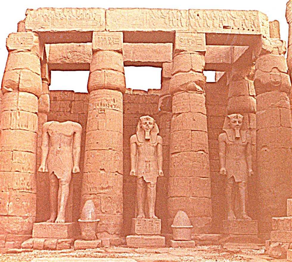 Emblemático en Templo de Luxor