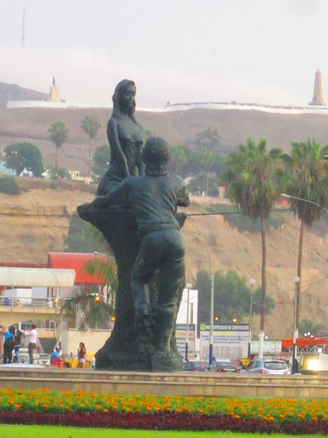 Estatua en Estatua Amour Chorrillos