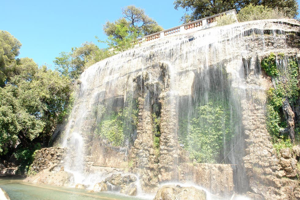 Waterfall in Antibes