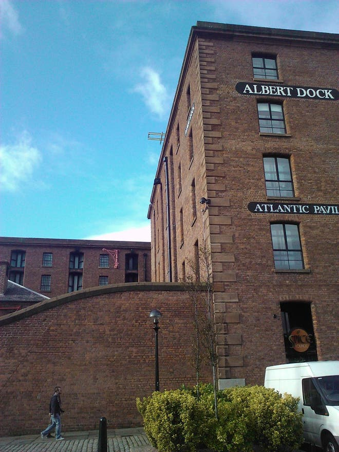 Arquitectura en Royal Albert Dock