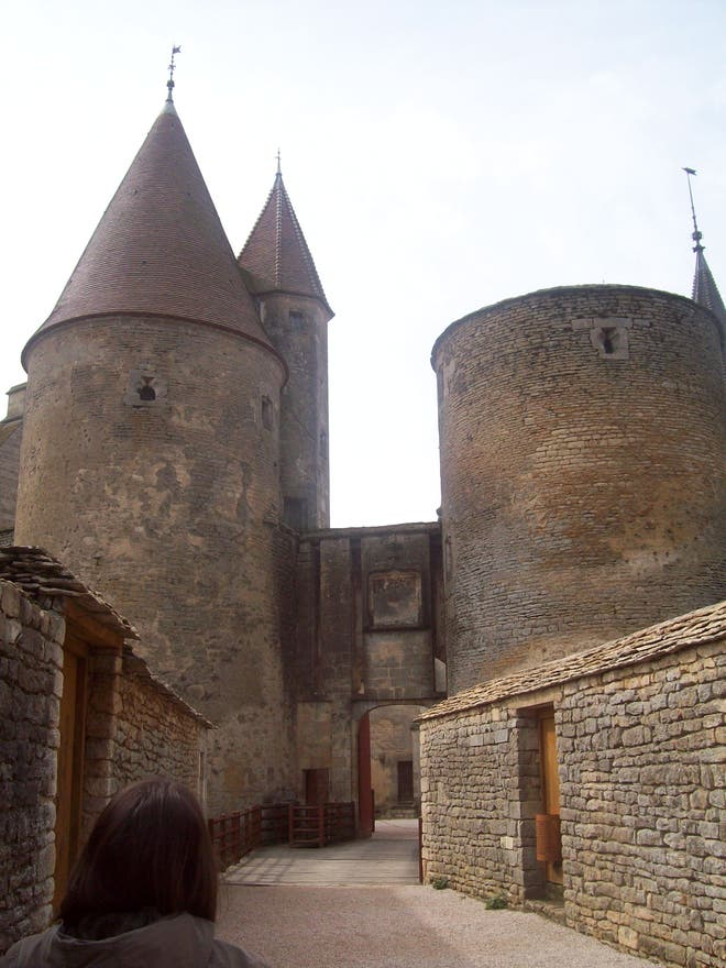 Fortification in Chateauneuf