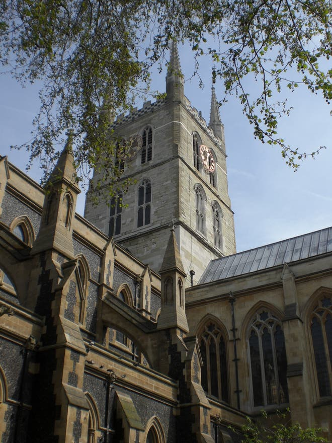 Arquitectura en Southwark cathedral