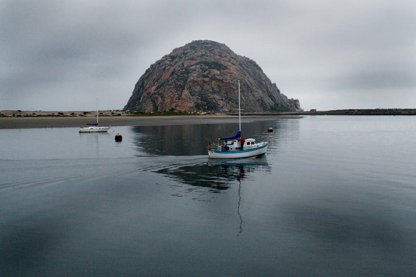 Water in Morro Bay