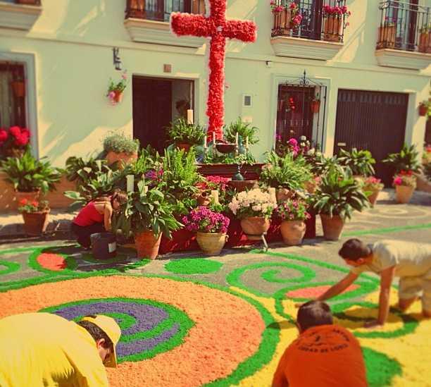 Finca en Virgen de Fátima / Alfombras de serrín