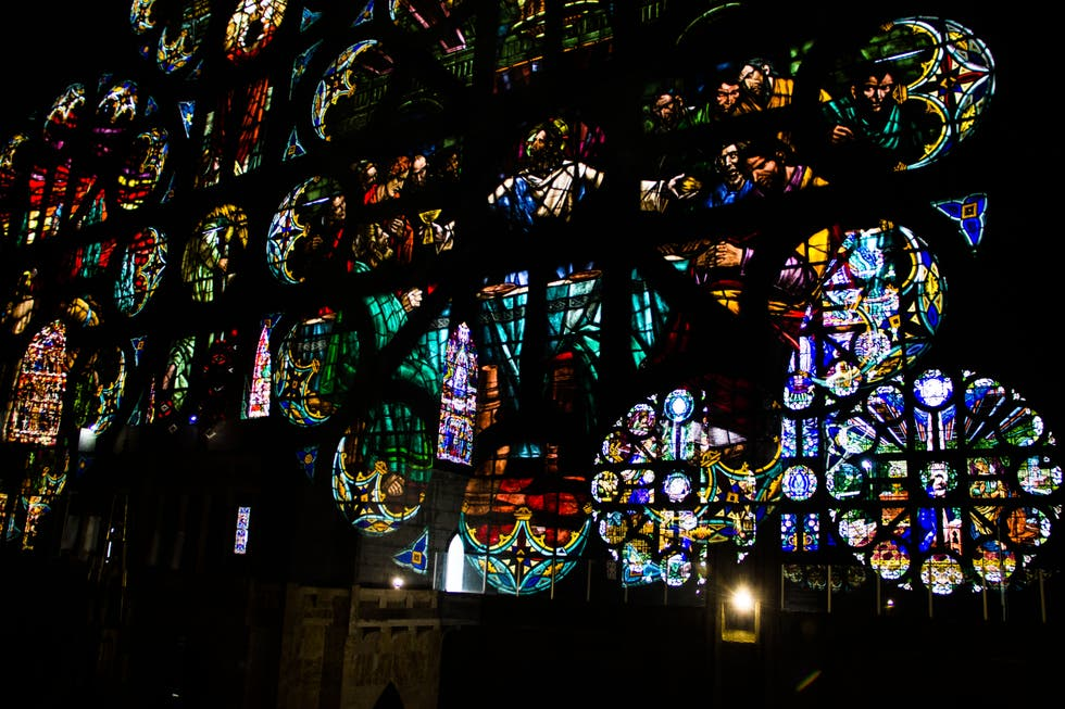Stained Glass in Manizales