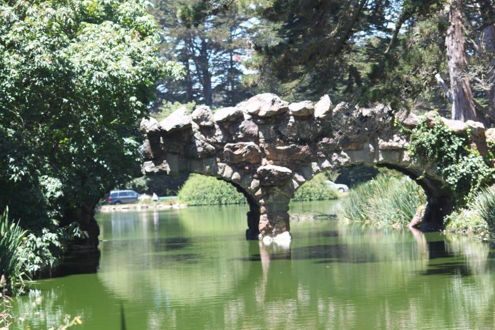Agua en Golden Gate Park