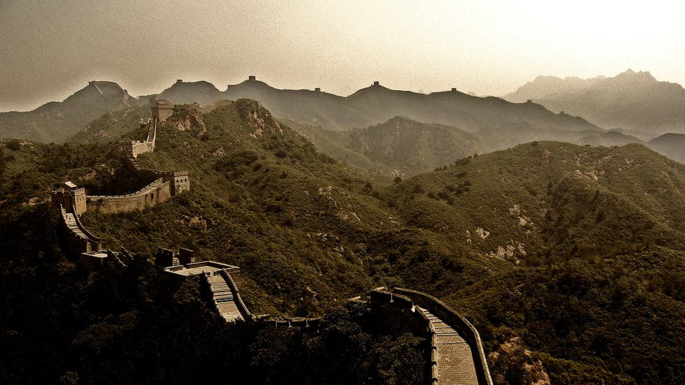 Photos of great wall of china images for A muralha da china vista da lua