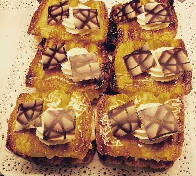 Comida en Pastelería Café Nueva York