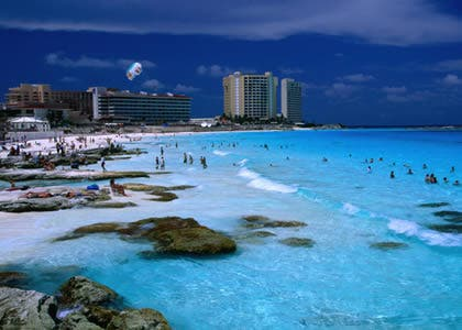 Vacation in Cancún