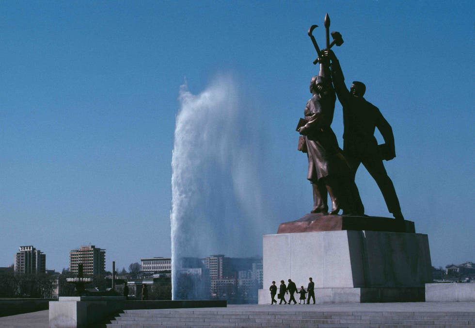 Statue in North Korea