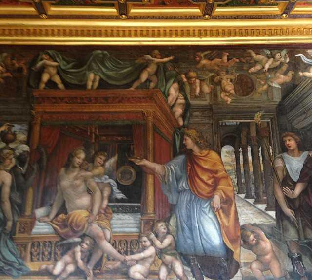 Altar en Villa Farnesina