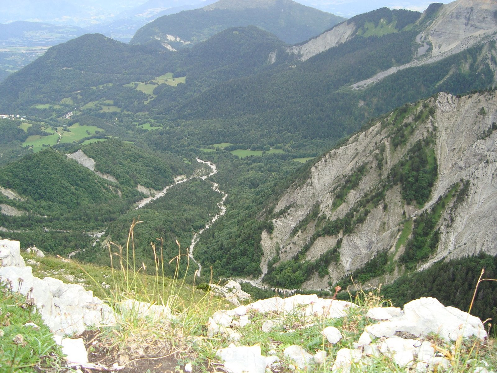 Mountain Range in La Chapelle-en-Vercors