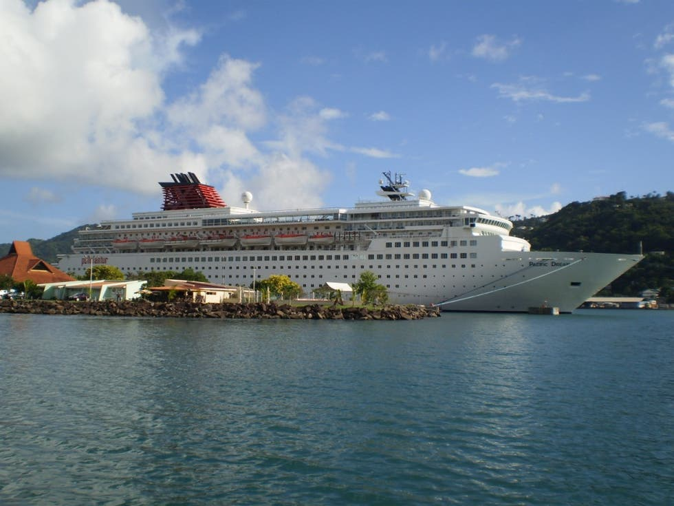 Barca en Castries Harbor