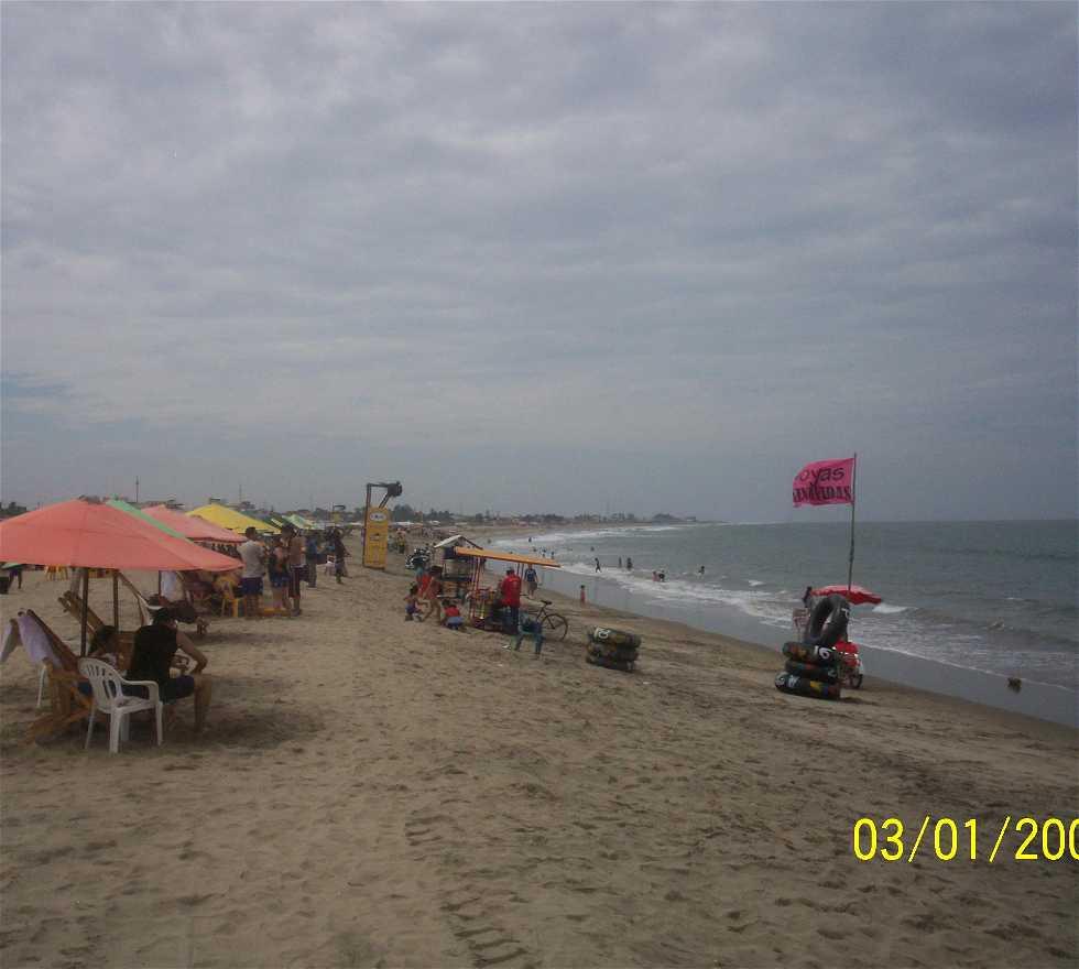 Playa en Playas