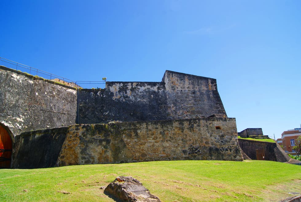 Pared en Castillo San Cristobal