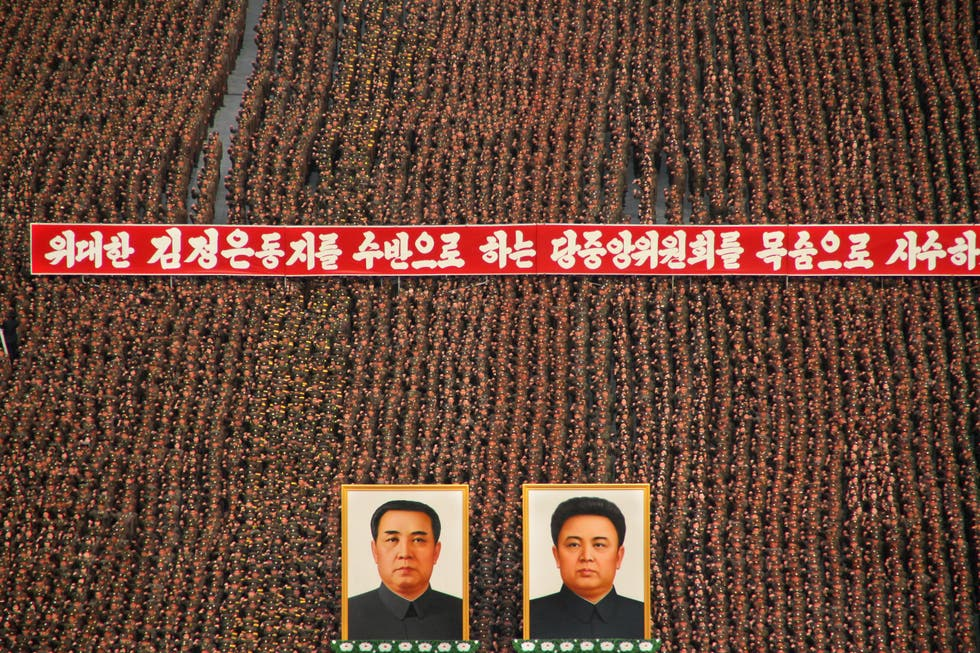 Flooring in North Korea